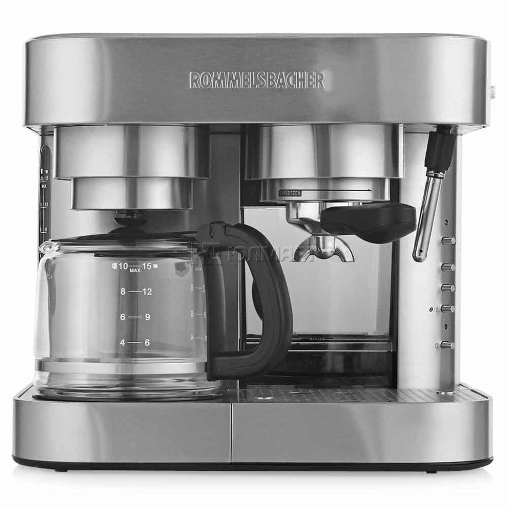 Комбінована кавоварка для будинку - Rommelsbacher EKS 3010 - фото