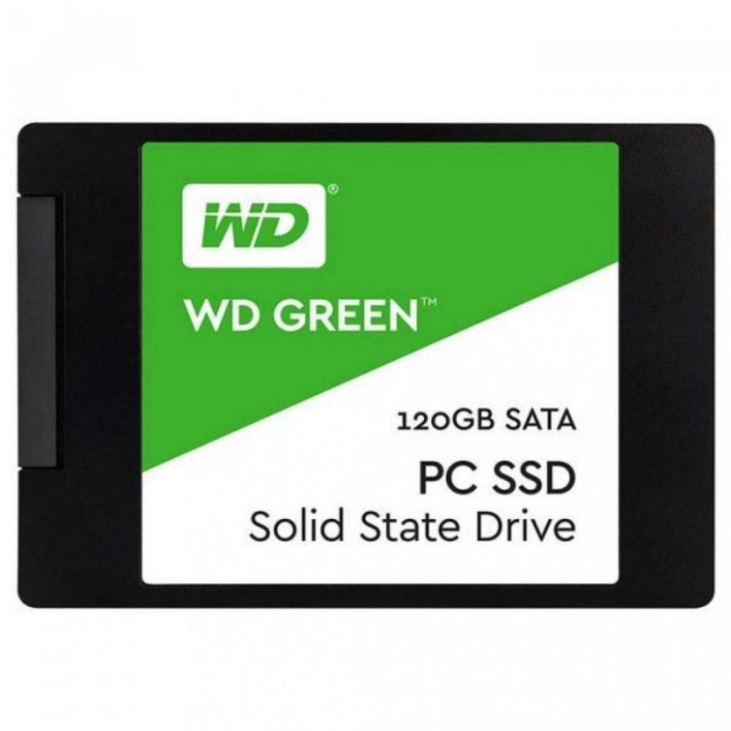 SSD WDS120G2G0A - фото