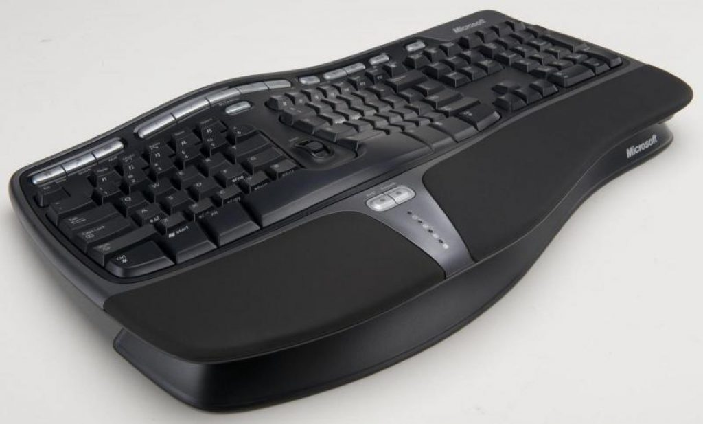 Клавіатура Microsoft Natural Ergonomic Keyboard 4000 Black USB - фото