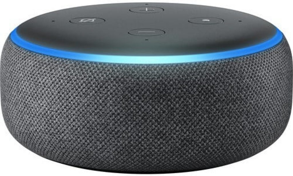 Розумна колонка Echo Dot - фото