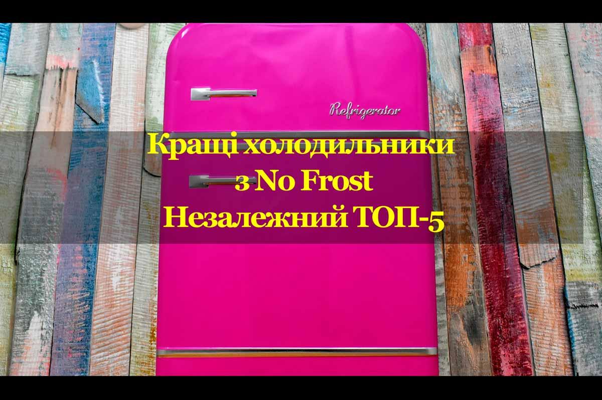 Вибираємо холодильник з No Frost. Незалежний ТОП-5