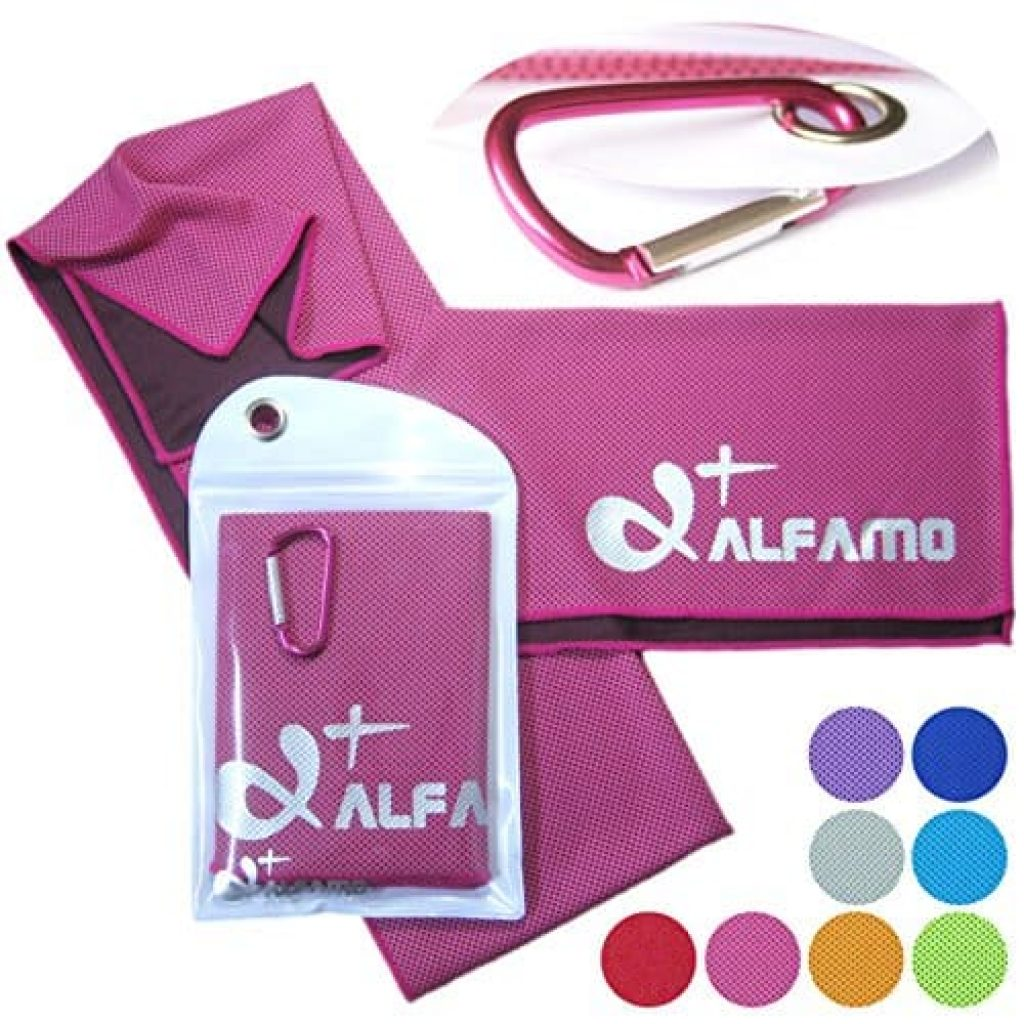 Alfamo Cooling Towels for Sports, Fitness, Gym & Yoga-фото