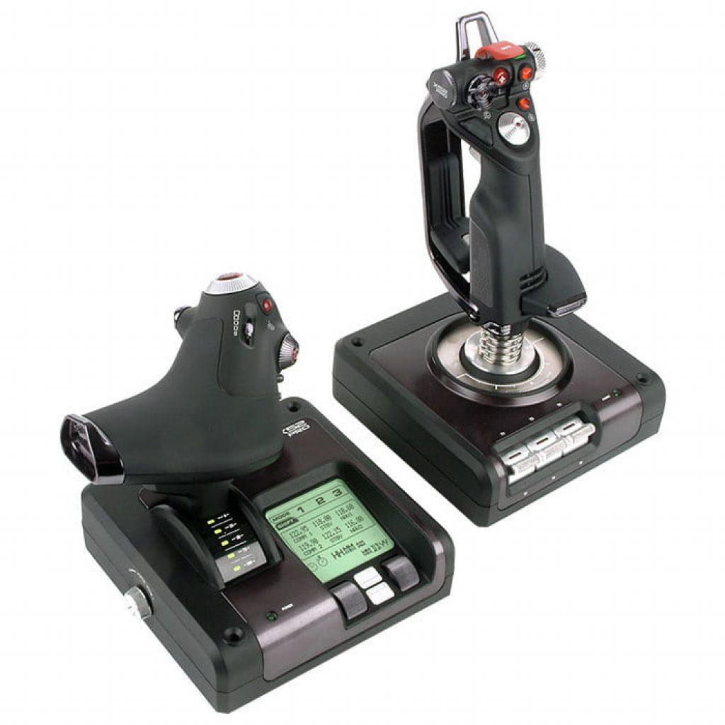 Logitech G Saitek X52 Pro Flight Control System-фото