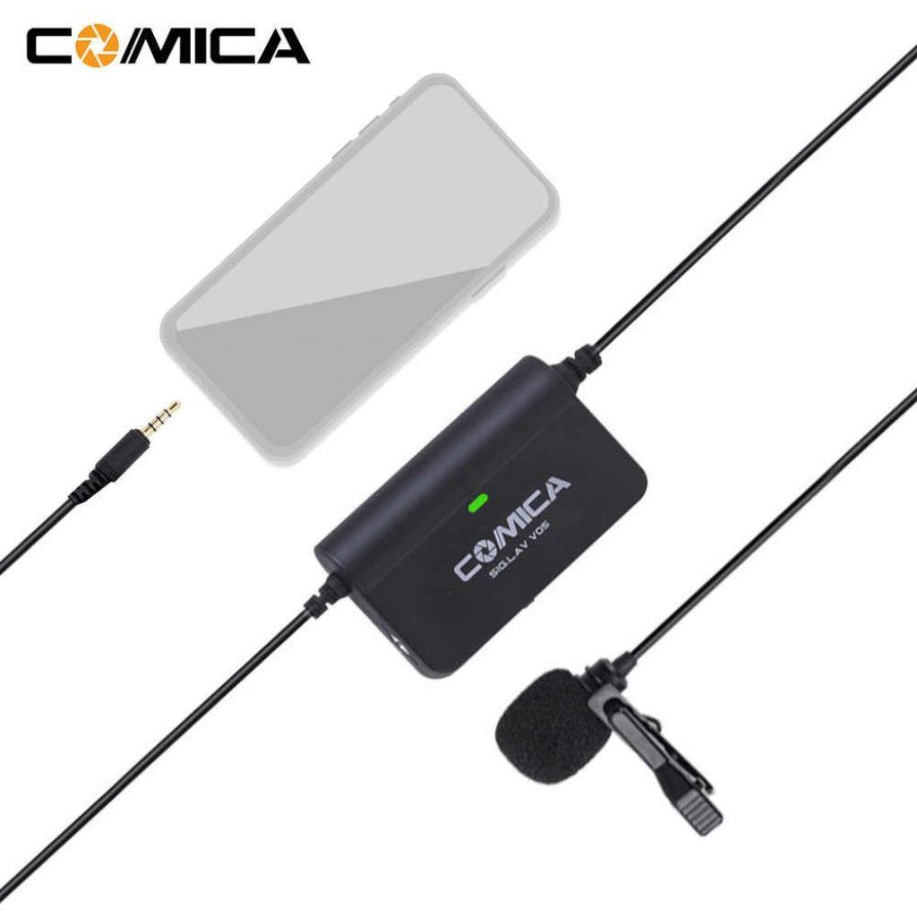 Мікрофон Comica CVM-SIG.LAV V05 - фото