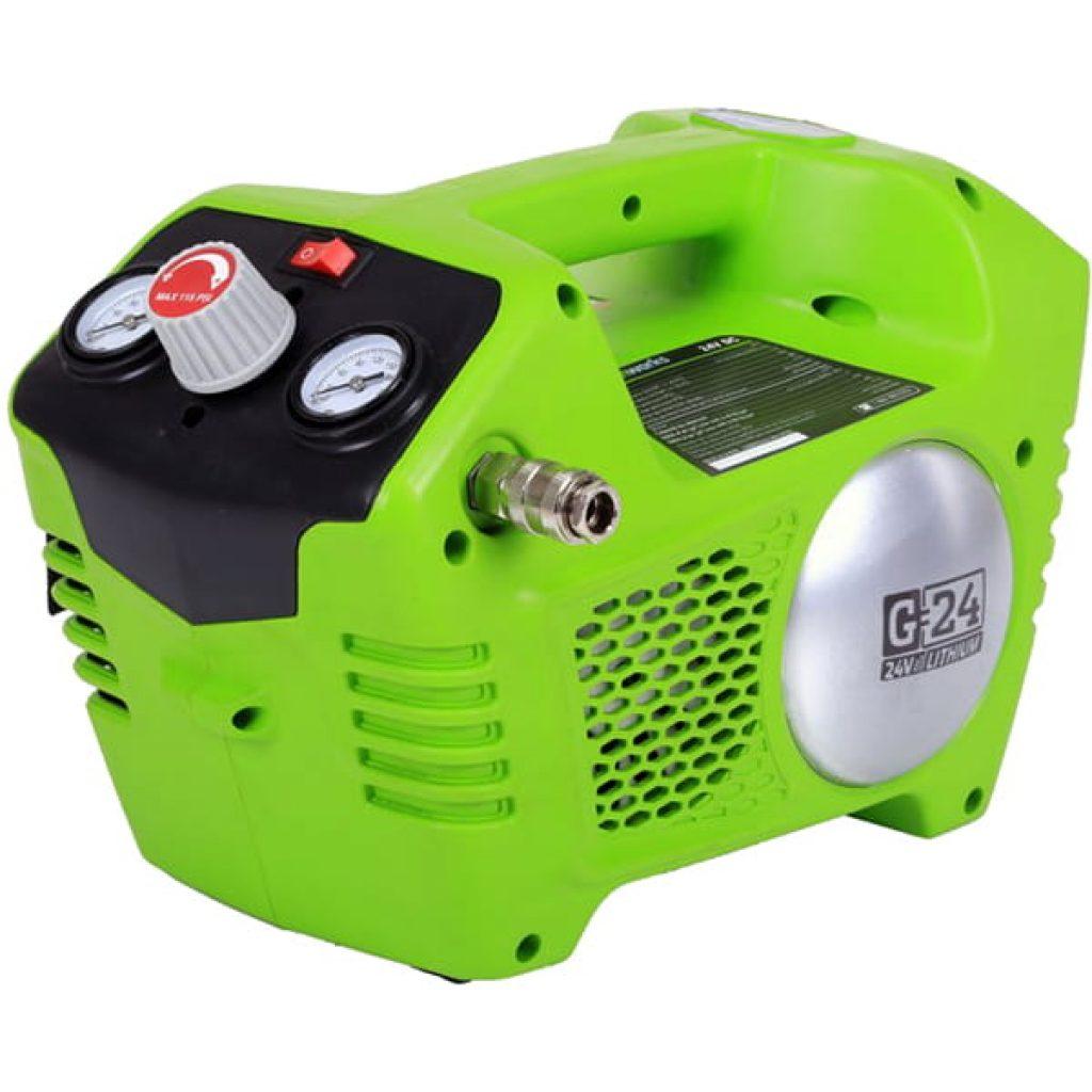 Повітряний компресор Greenworks G40AC - фото