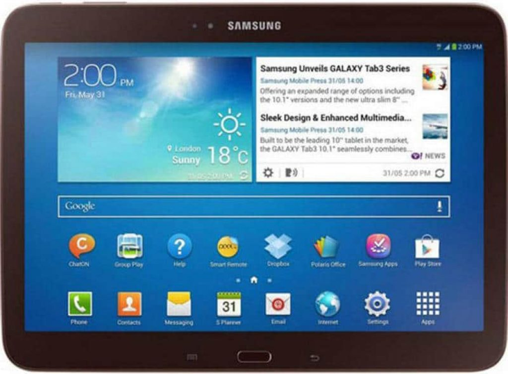 Планшет Samsung Galaxy Tab 3 - фото