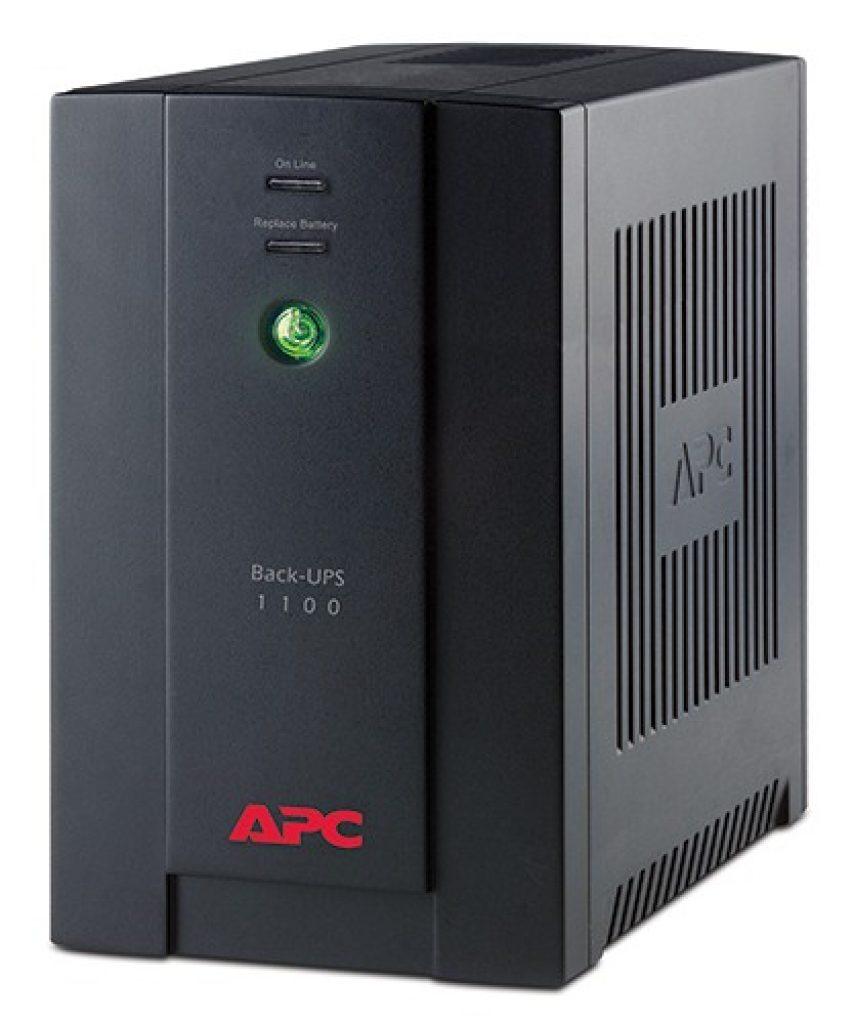 Джерело безперебійного живлення APC by Schneider Electric Back-UPS BX1100CI-RS - фото
