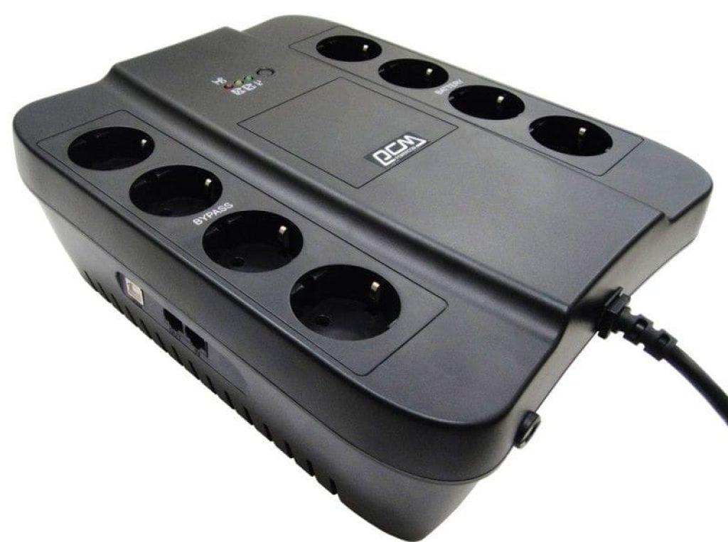 Джерело безперебійного живлення Powercom SPIDER SPD-650U - фото