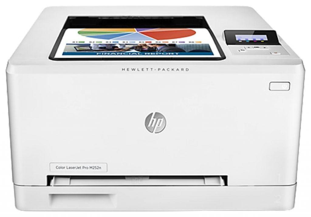Принтер HP Color LaserJet Pro M254nw - фото