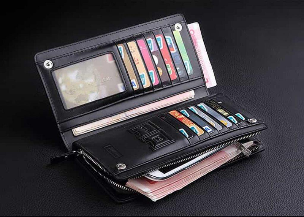 RFID-гаманець в діловому стилі - фото