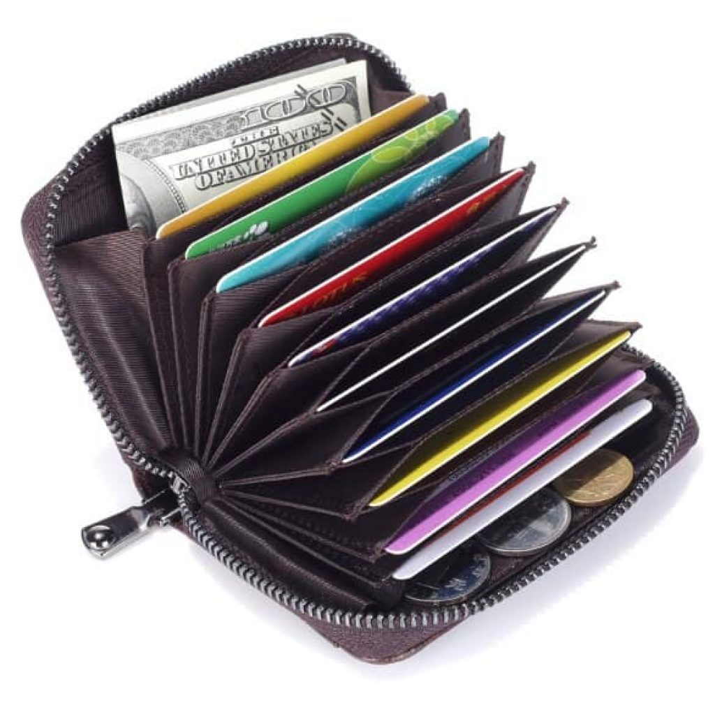 RFID-гаманець в класичному стилі - фото