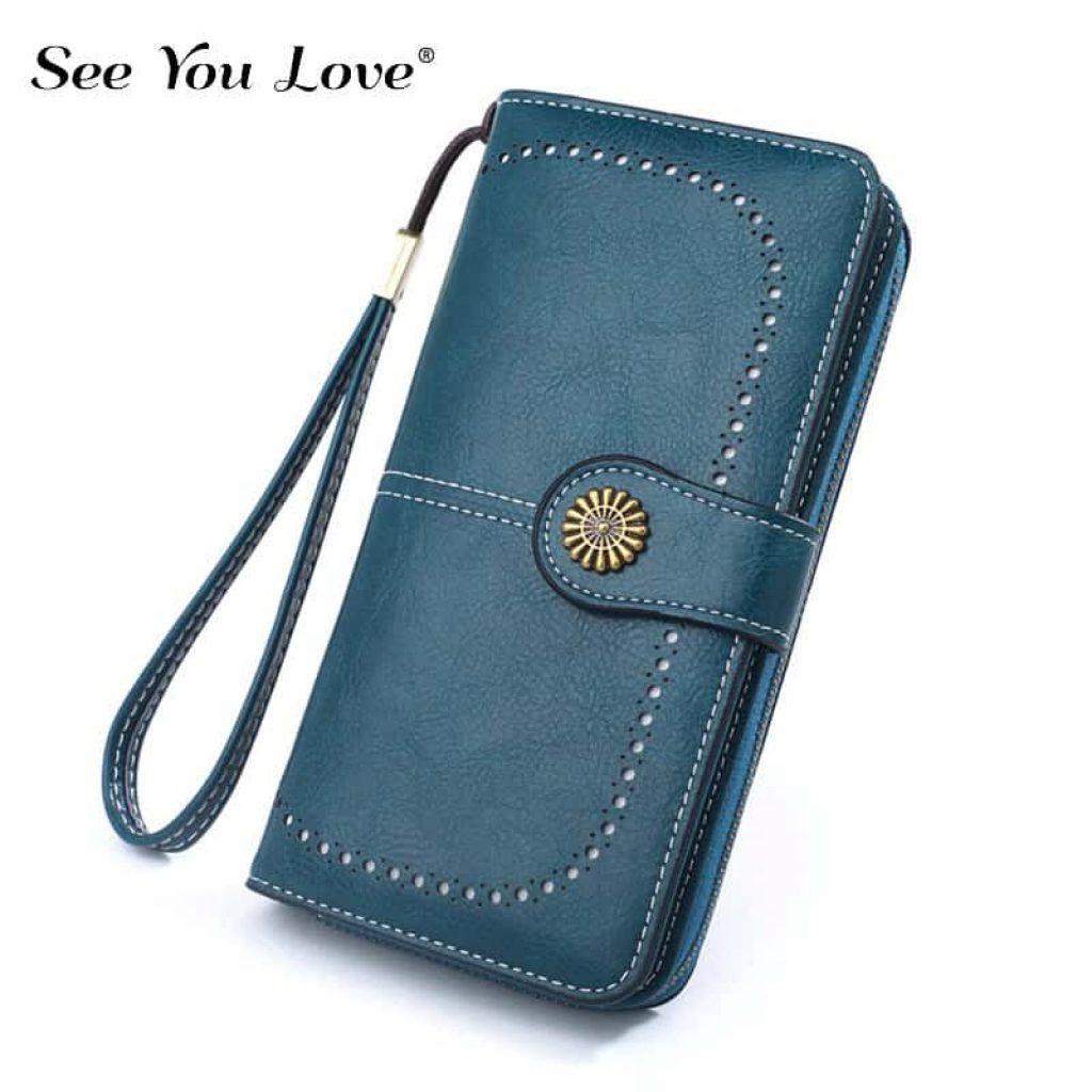 RFID-гаманець в стилі «ретро» - фото