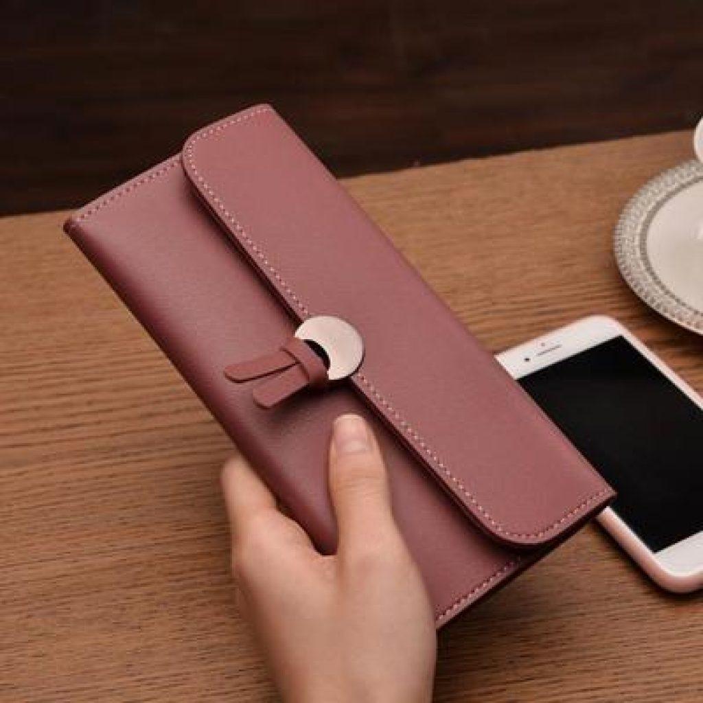 RFID-гаманець з модним замочком - фото