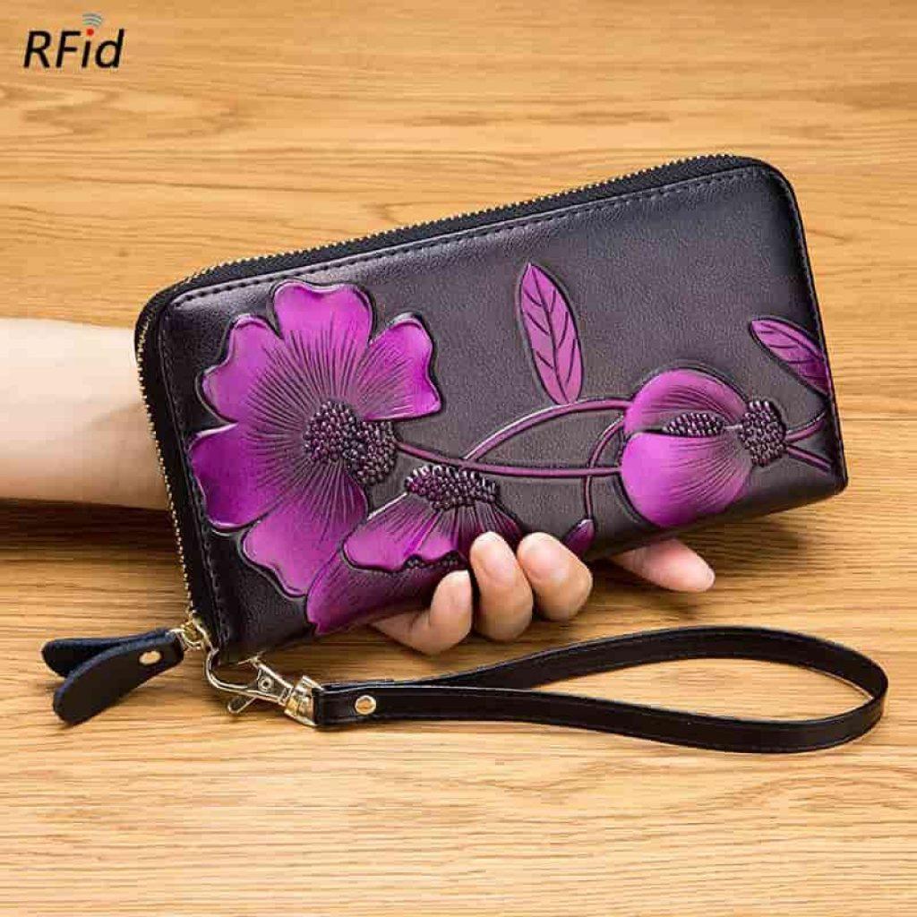 RFID-гаманець Rfid Fashion Personality Bauhinia - фото