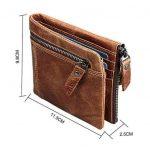 RFID-гаманець Vintage Hasp - фото-min