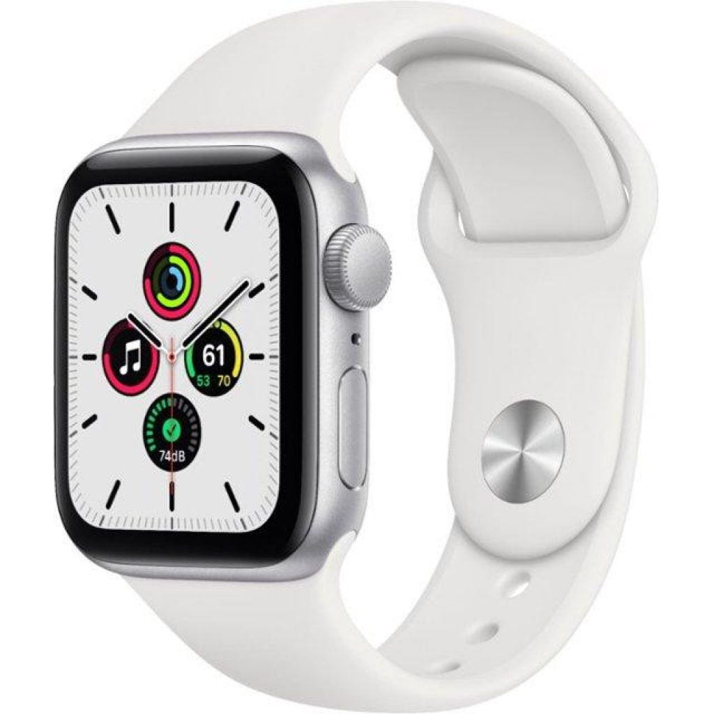 Apple Watch SE GPS 40mm Aluminum Case with Sport Band - фото