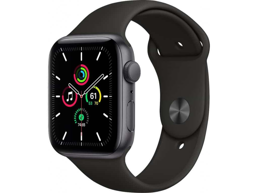 Apple Watch SE GPS 44mm Aluminum Case with Sport Band - фото
