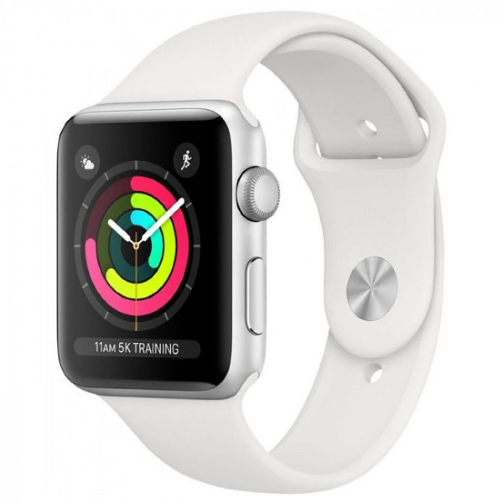 Apple Watch Series 3 38mm Aluminum Case with Sport Band - фото