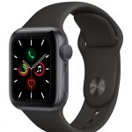 Apple Watch Series 5 GPS 40mm Aluminum Case with Sport Band - фото
