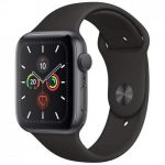 Apple Watch Series 5 GPS 44mm Aluminum Case with Sport Band - фото