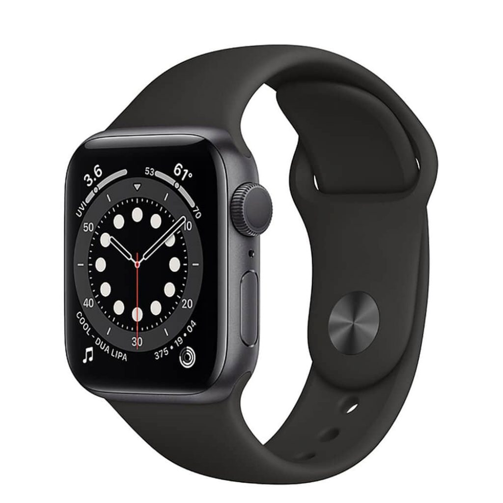 Apple Watch Series 6 GPS 40mm Aluminum Case with Sport Band - фото