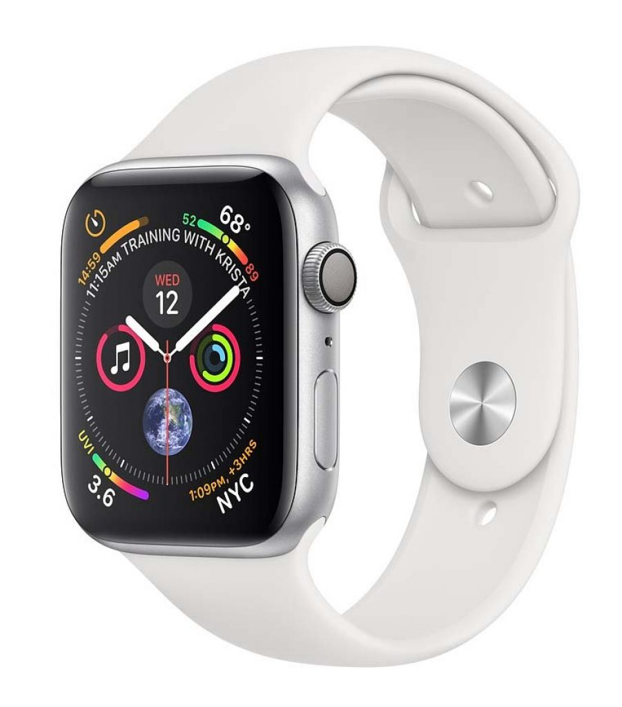 Apple Watch Series 6 GPS 44mm Aluminum Case with Sport Band - фото