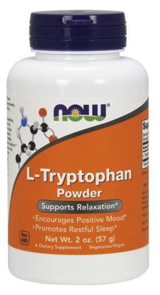 NOW L-Tryptophan Powder - фото